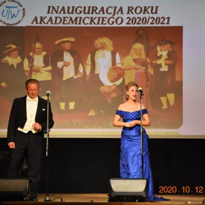 Para śpiewa na scenie