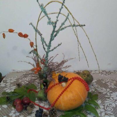 Jesienna dekoracja seniora