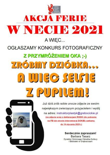 konkurs selfie z pupilem