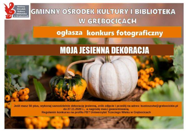 konkurs jesienna dekoracja