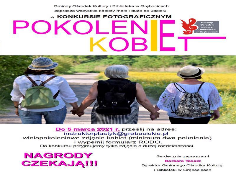 KONKURS FOTOGRAFICZNY POKOLENIE KOBIET-800x600