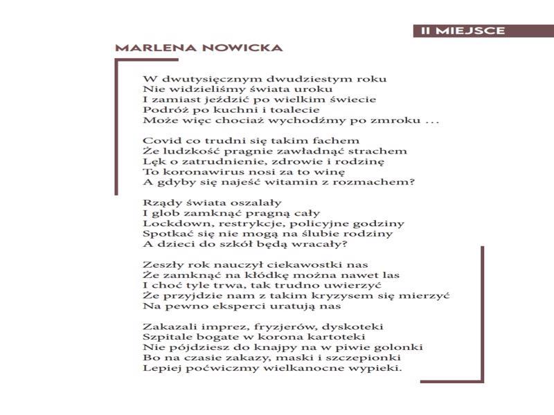 LIMERYKI KONKURSOWE MARLENA NOWICKA-800