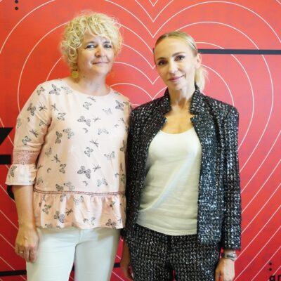 Anna Wyszkoni z fanami