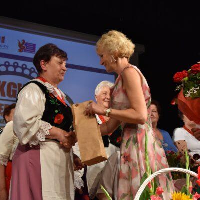 gratulacje od Barbary Sudomirskiej