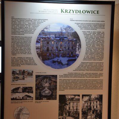 Opis pałacu z Krzydłowic