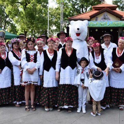 Sołectwo Grodziszcze z zakopiańskim misiem z Grębocic