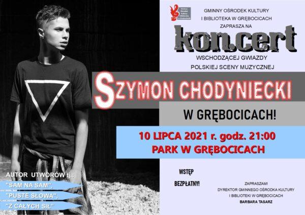 plakat SZYMON CHODYNIECKI