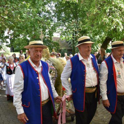 19 Delegacja wieńcowa z Grębocic