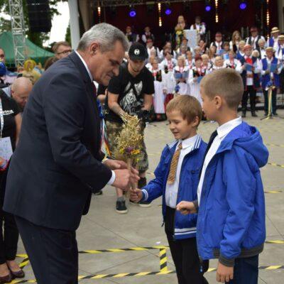 22 Delegacja dzieci z Żabic