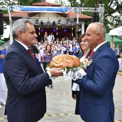 29 Delegacja z chlebem z Kwieclic