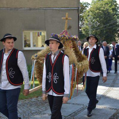 3 Delegacja wieńcowa z Żabic
